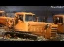 """СТЗ ДТ-75, гусеничный-трактор из к/ф """"Русское поле"""" (1971)."""