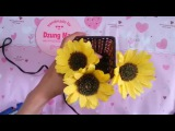 Crepe paper Sunflowers - H