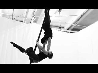Duo Aerial Chinese Pole Kulagina Anzhela & Guseva Angelina