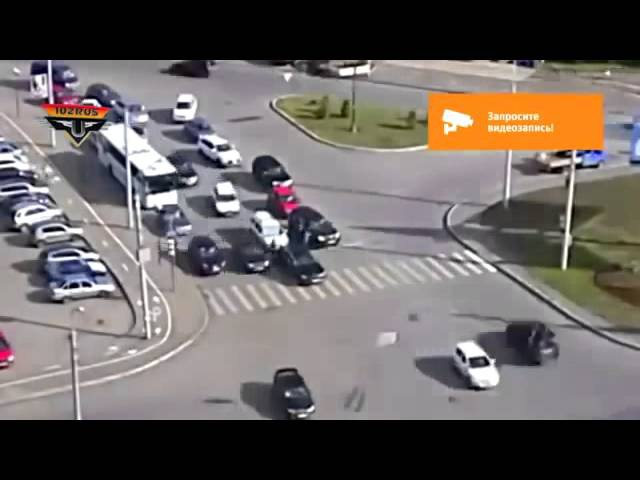 Неоднозначное ДТП, г Уфа, ул М Жукова Ю Гагарина, 06 07