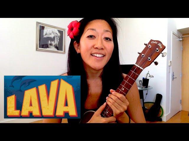 Lava Ukulele Play-along with Lyrics