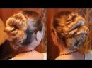 Лёгкая и красивая причёска с резинками за 5 минут Hairstyle for medium hair by REM