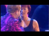 ELTON JOHN &amp KIKI DEE - DON'T GO BREAKING MY HEART - LIVE 2.000 (HQ-856X480) 3D VIDEO