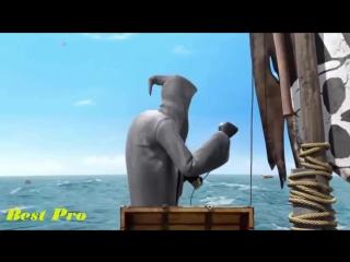 Funny Animation Movies - Funny death sails - Full HD cartoon - Короткометражный мультфильм