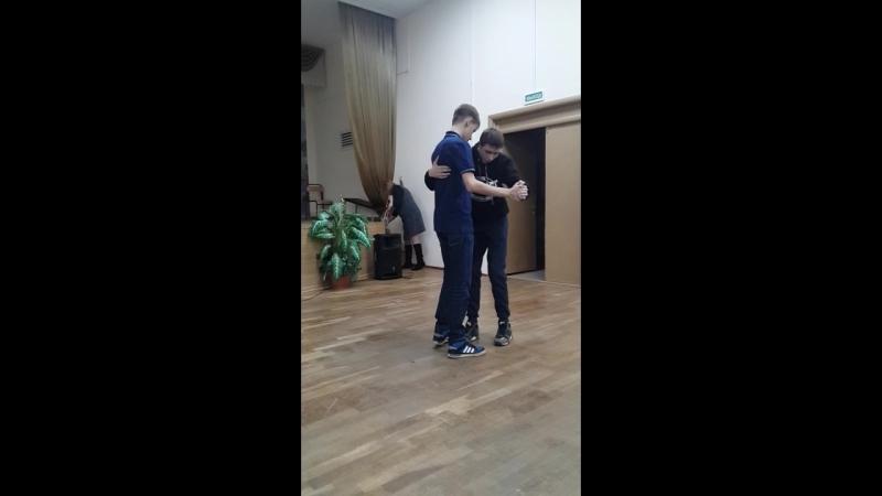 репетиция Рома и Леша