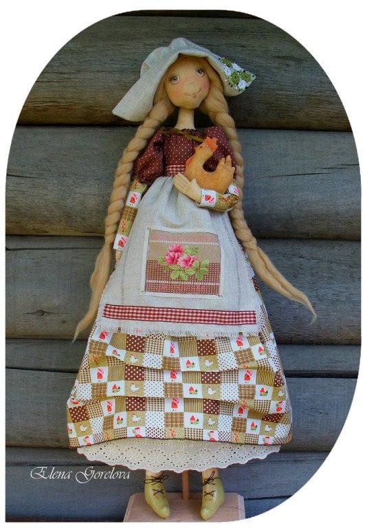 куклы из ткани
