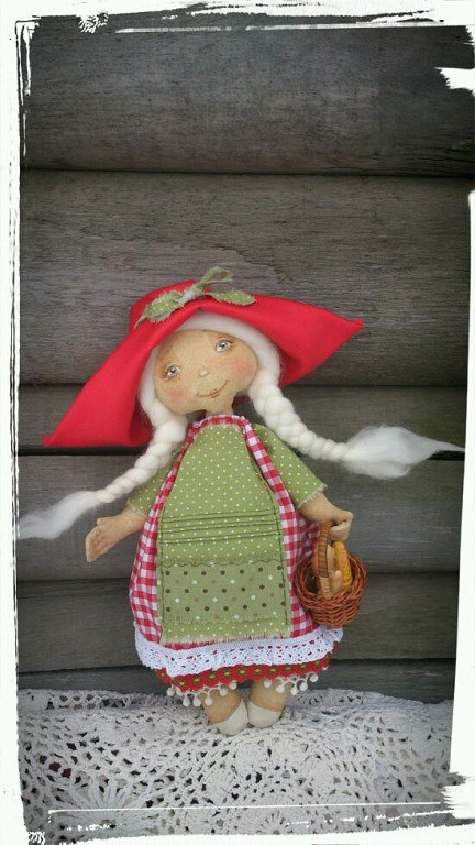 кукла красная шапочка