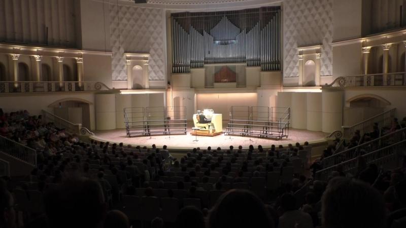 А. Гильман Соната № 1 для органа (финал) Оливье Латри (ОРГАН,Франция)