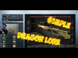 S1mple КРАФТИТ ДРАГОН ЛОР!!! CRAFTED DRAGON LORE!!!