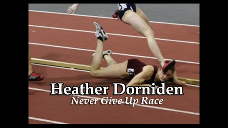 Heather Dorniden Takes a Fall But Still Wins the Race