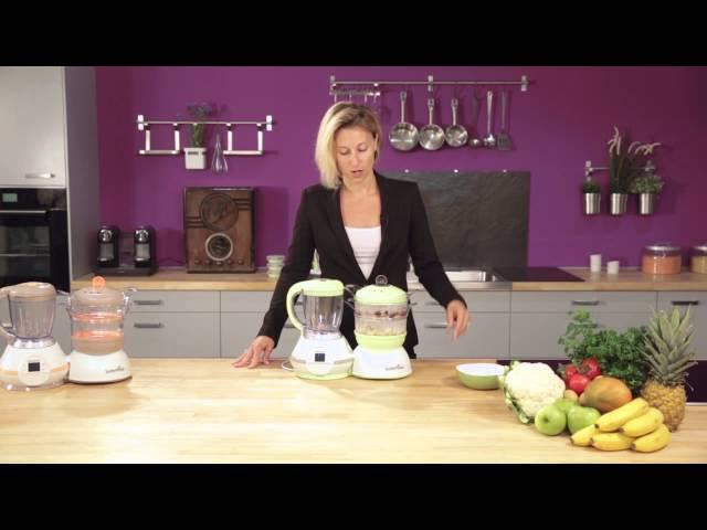 Многофункциональный кухонный комбайн Babymoov Nutribaby