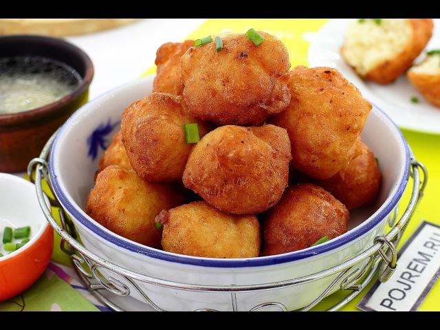 Нежные и воздушные картофельные пончики