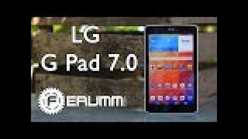 LG G Pad 7.0 полный обзор. Все слабые и сильные места планшета LG G Pad 7.0 от FERUMM.COM