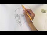 Уроки рисования. Как нарисовать ЛИЦО ЧЕЛОВЕКА карандашом   Art School