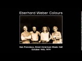 Eberhard Weber Colours San Francisco, Great American Music Hall - October 14th, 1979
