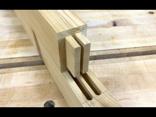 How to Make a Double Mortise Tenon Joint