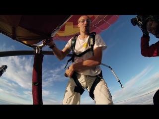 Безбашенный парашютист. Горячий финский парень.