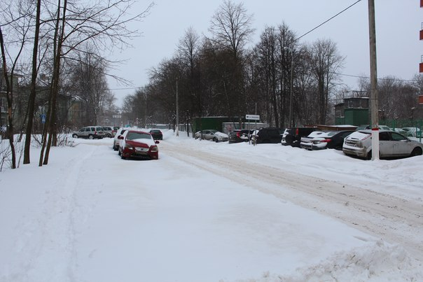 А снег не знал и падал... А на дворе уже 2 марта...