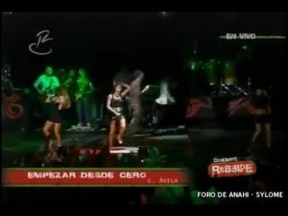 RBD - Empezar Desde Cero en Concierto Rebelde