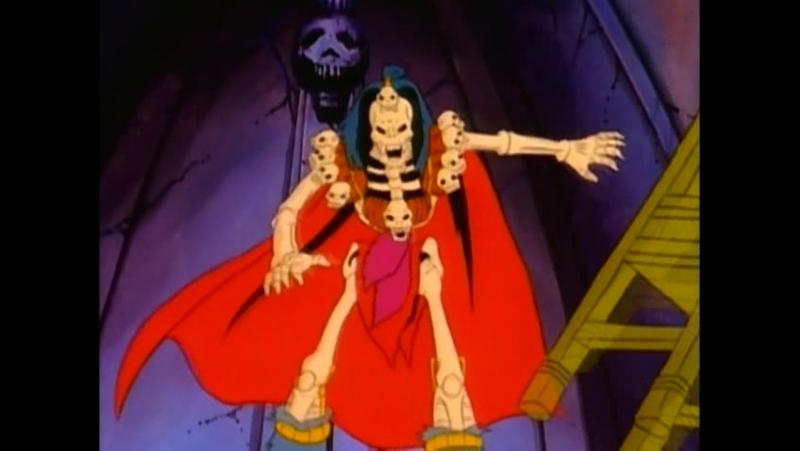 Воины-Скелеты 3 серия из 13 / Skeleton Warriors Episode 3 (1993 - 1994) Сердце и душа