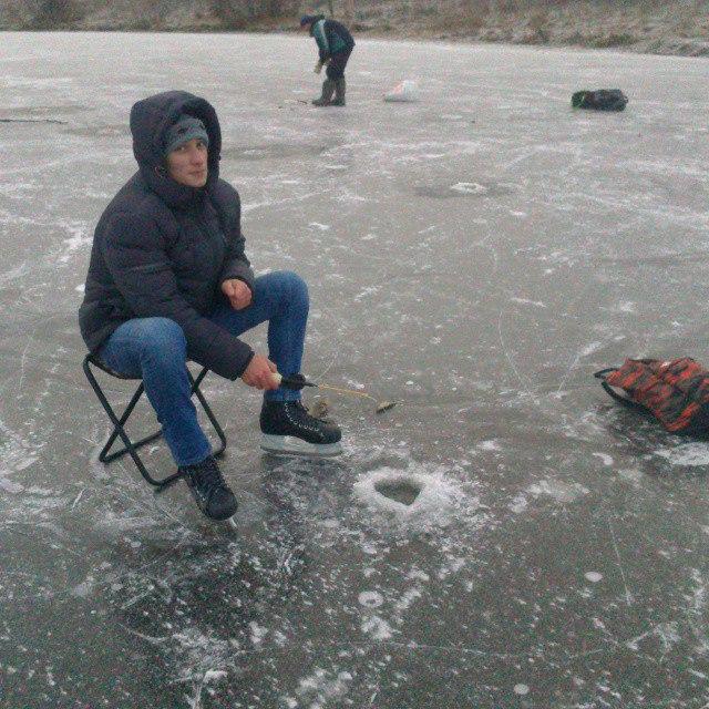 рыбалка на коньках