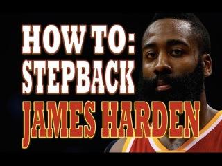 How To: James Harden Stepback | NBA Moves | Pro Training Basketball