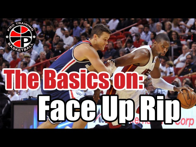 Face Up: Rip Baseline | Dominate the Low Post | Pro Training Basketball
