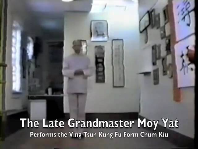 Moy Yat Plays Chum Kiu 詠春 梅逸 尋橋