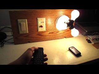Remote control light switch (arduino)