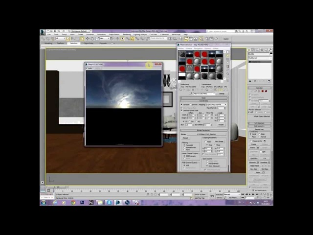 3Ds Max Corona Render. HDR карты