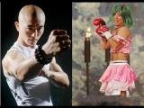 Бои без правил: Шаолиньский монах против японского трансвестита: Yi Long vs Yuichirou Nagashima