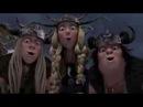 Дракони вершники Берка, Різдвяне промо на QTV - Анонс