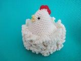 Пасхальная курочка Часть 2 Easter chicken Part 2 Crochet