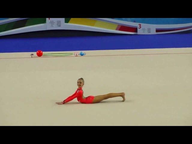 Дроздова Мария, б/п.Первенство России по художественной гимнастике г.Казань 2014