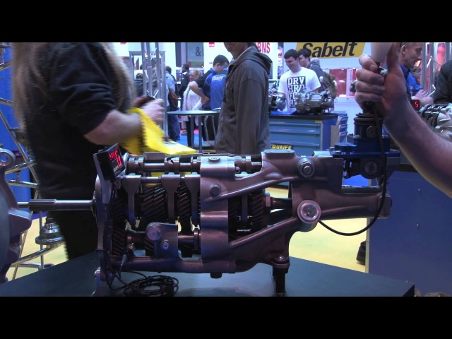 How a sequential gearbox works - Overdrive : Burnout