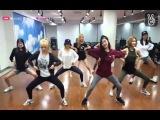 150818 SNSD - Lion Heart Dance Practice @Naver V Live