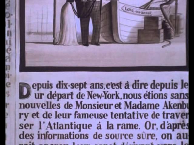 1978 Jean Francois Laguionie La traversee de l Atlantique a la rame