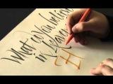 Calligraphy Pages Pt. 24 Luca Barcellona  Francesca Biasetton - 2008