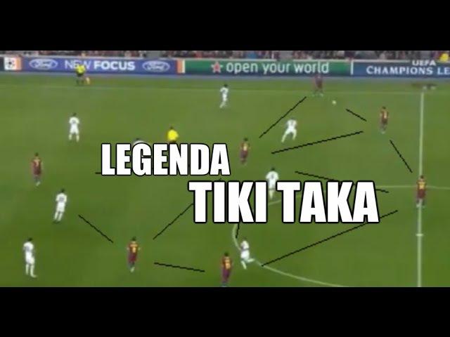 FC Barcelona - Legenda TIKI TAKA