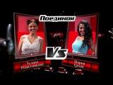 Эллина Решетникова и Мария Ероян All About That Bass - Поединки - Голос - Сезон 4