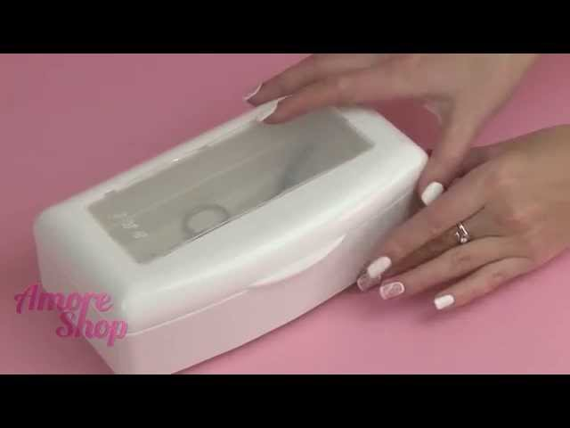 Емкость-контейнер для дезинфекции маникюрных инструментов 0,5 л. Видео-обзор от AmoreShop