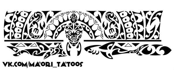 Полинезийские тату браслеты