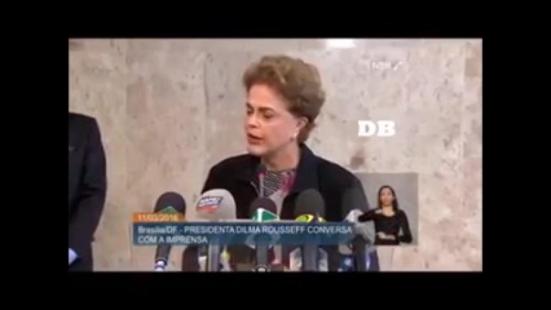Eu me renuncio diz Dilma por engano