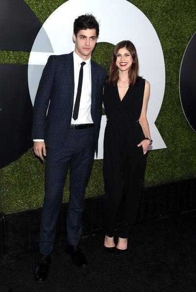 "Александра Даддарио и ее брат Мэттью на церемонии ""GQ Men Of The Year Party"" в Л..."