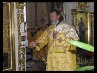 Встреча Епископа Диониса Шепетовка