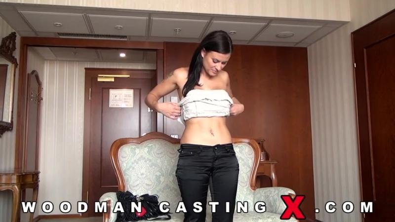 Брюнетка на кастинге Вудмана Woodman Casting X with hot brunette Billie