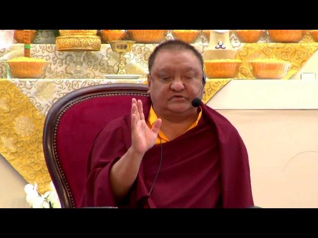 Mahamudra Prayers - Shamar Rinpoche - Dhagpo Kagyu Ling - June 2013 - 28