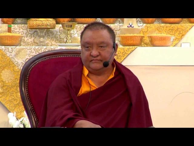 Mahamudra Prayers - Shamar Rinpoche - Dhagpo Kagyu Ling - June 2013 - 18