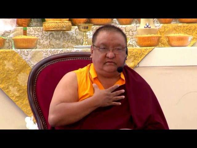 Mahamudra Prayers - Shamar Rinpoche - Dhagpo Kagyu Ling - June 2013 - 68