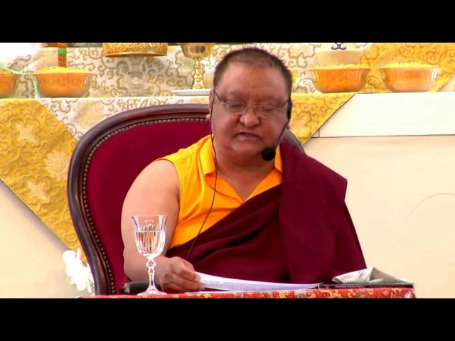 Mahamudra Prayers - Shamar Rinpoche - Dhagpo Kagyu Ling - June 2013 - 88